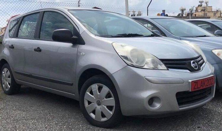 Nissan Note 1.4 rentitdriveit Cyprus Limassol